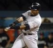 Bernie Williams 2003 New York Yankees MLB Away Throwback Baseball Jersey - ACTION