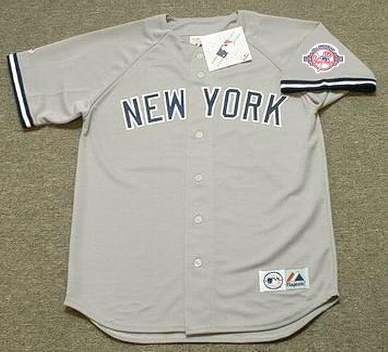 ... HIDEKI MATSUI New York Yankees 2003 Majestic Throwback Away Baseball  Jersey. Image 1 ac67bb1f678
