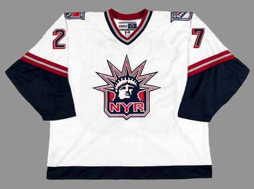 ALEX KOVALEV New York Rangers 1998 CCM Throwback Alternate NHL Jersey - FRONT