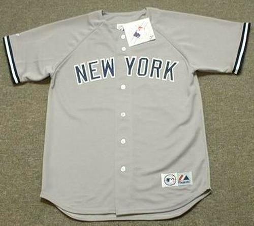 Aaron Judge 2017 New York Yankees MLB Away Throwback Baseball Jersey - FRONT