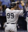 Aaron Judge 2017 New York Yankees MLB Away Throwback Baseball Jersey - ACTION