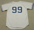 Aaron Judge 2017 New York Yankees MLB Away Throwback Baseball Jersey - BACK