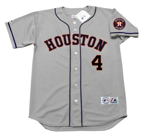reputable site ae4df 9a92f GEORGE SPRINGER Houston Astros Majestic Away Baseball Jersey