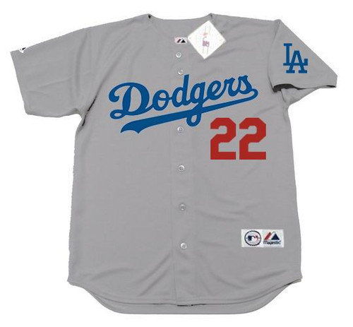 CLAYTON KERSHAW Los Angeles Dodgers 2016 Away Majestic Baseball Throwback Jersey - FRONT