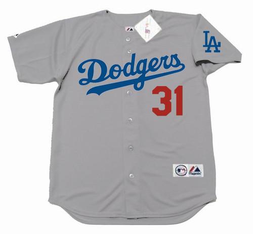 timeless design 176a0 28b6b JOC PEDERSON Los Angeles Dodgers 2016 Majestic Away Baseball Jersey