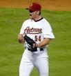 BRAD LIDGE Houston Astros 2005 Home Majestic Baseball Throwback Jersey - ACTION