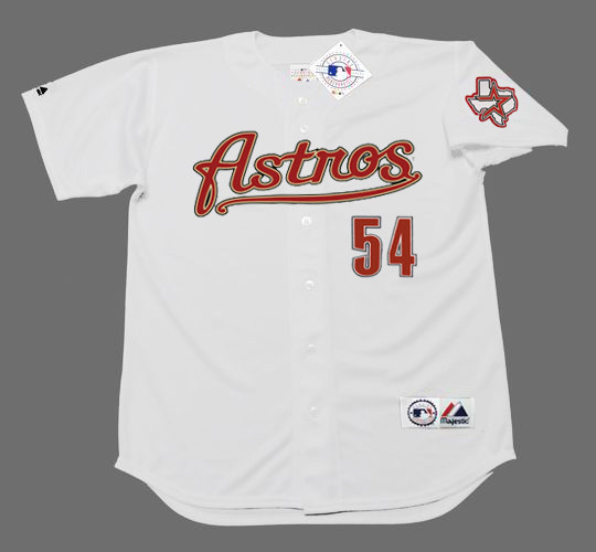 brand new 03b92 27918 BRAD LIDGE Houston Astros 2005 Home Majestic Baseball Throwback Jersey