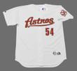 BRAD LIDGE Houston Astros 2005 Home Majestic Baseball Throwback Jersey - FRONT