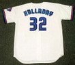 ROY HALLADAY Toronto Blue Jays 1999 Home Majestic Baseball Throwback Jersey - BACK