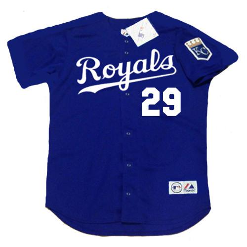 6bffcc955 MIKE SWEENEY | Kansas City Royals 2002 Alternate Majestic Throwback Baseball