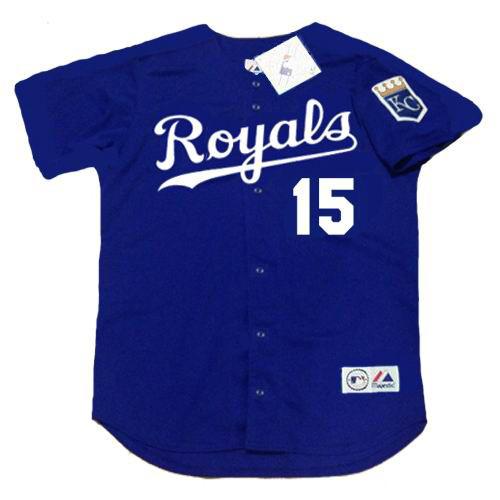 Carlos Beltran Kansas City Royals 2002 Alternate Majestic Throwback Baseball Jersey