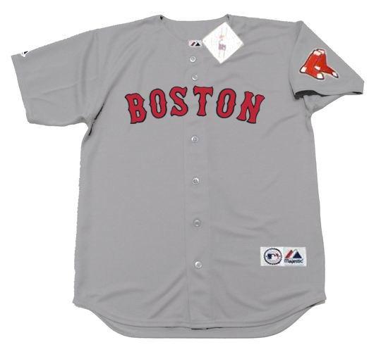 check out a8ee4 8184f ANDREW BENINTENDI Boston Red Sox Majestic Away Baseball Jersey