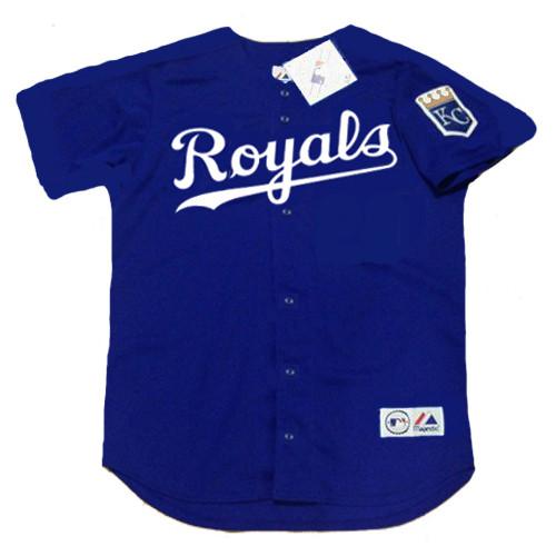 KANSAS CITY ROYALS 2002 Majestic Throwback Alternate Baseball Jersey
