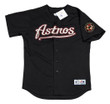 BILLY WAGNER Houston Astros 2001 Alternate Majestic Baseball Throwback Jersey - FRONT