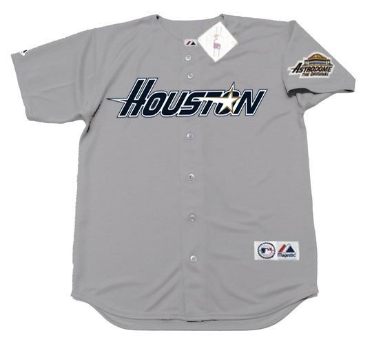 finest selection 65902 b99ac KEN CAMINITI Houston Astros 1994 Majestic Throwback Away Baseball Jersey