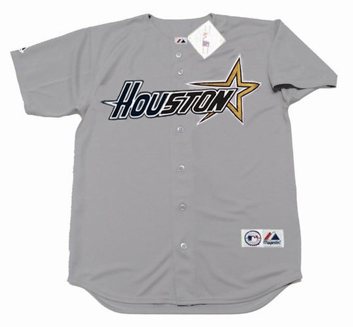 BILLY WAGNER Houston Astros 1998 Away Majestic Baseball Throwback Jersey - FRONT