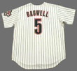 JEFF BAGWELL Houston Astros 2004 Home Majestic Baseball Throwback Jersey - BACK