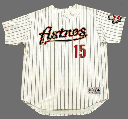 CARLOS BELTRAN Houston Astros 2004 Home Majestic Baseball Throwback Jersey