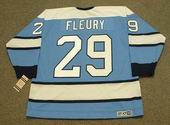 MARC-ANDRE FLEURY Pittsburgh Penguins 1960's CCM Vintage Throwback Hockey Jersey