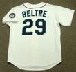ADRIAN BELTRE Seattle Mariners 2007 Home Majestic Vintage Baseball Jersey - BACK