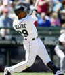 ADRIAN BELTRE Seattle Mariners 2007 Home Majestic Vintage Baseball Jersey - ACTION