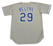 ADRIAN BELTRE Los Angeles Dodgers 1998 Away Majestic MLB Throwback Jersey - BACK