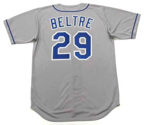 ADRIAN BELTRE Los Angeles Dodgers 1999 Away Majestic MLB Throwback Jersey - BACK