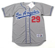 ADRIAN BELTRE Los Angeles Dodgers 1999 Away Majestic MLB Throwback Jersey - FRONT