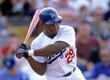 ADRIAN BELTRE Los Angeles Dodgers 1999 Home Majestic Vintage Baseball Jersey - ACTION