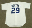 ADRIAN BELTRE Los Angeles Dodgers 1999 Home Majestic Vintage Baseball Jersey - BACK