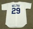 ADRIAN BELTRE Los Angeles Dodgers 1999 Home Majestic Vintage Baseball Jersey - BACK