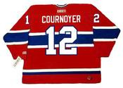 YVAN COURNOYER Montreal Canadiens 1978 CCM Throwback Away NHL Jersey