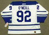 JEFF O'NEILL Toronto Maple Leafs 2005 CCM Throwback NHL Hockey Jersey