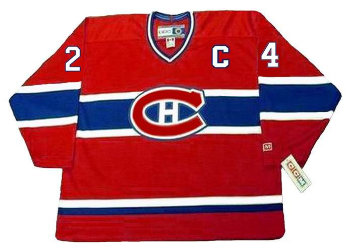 the best attitude 31b3f 38fcb CHRIS CHELIOS Montreal Canadiens 1990 CCM Throwback Away NHL Jersey