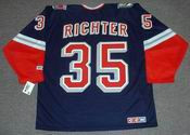 MIKE RICHTER New York Rangers 1996 CCM Throwback Alternate NHL Jersey