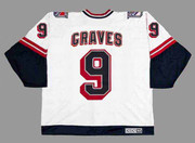 1998 New York Rangers CCM Vintage ADAM GRAVES NHL throwback jersey - BACK