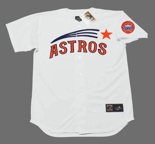 BOB WATSON Houston Astros 1971 Home Majestic Baseball Throwback Jersey - FRONT