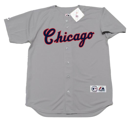 buy popular ff513 f2cab CARLTON FISK Chicago White Sox 1990 Majestic Throwback Away Baseball Jersey