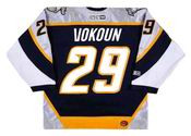 Tomas Vokoun 2005 Nashville Predators NHL Throwback Hockey Jersey - BACK