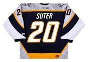 Ryan Suter 2006 Nashville Predators NHL Throwback Hockey Jersey - BACK