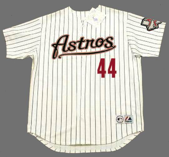 online retailer c42b4 c770c ROY OSWALT Houston Astros 2004 Majestic Throwback Home Baseball Jersey