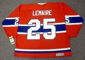 JACQUES LEMAIRE Montreal Canadiens 1971 CCM Vintage Throwback NHL Hockey Jersey