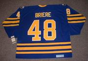 DANIEL BRIERE 2006 CCM Home Buffalo Sabres Jersey - BACK