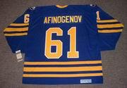 MAXIM AFINOGENOV Buffalo Sabres 2006 CCM Vintage Throwback NHL Hockey Jersey