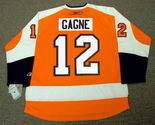 SIMON GAGNE Philadelphia Flyers 2010 REEBOK Throwback NHL Hockey Jersey