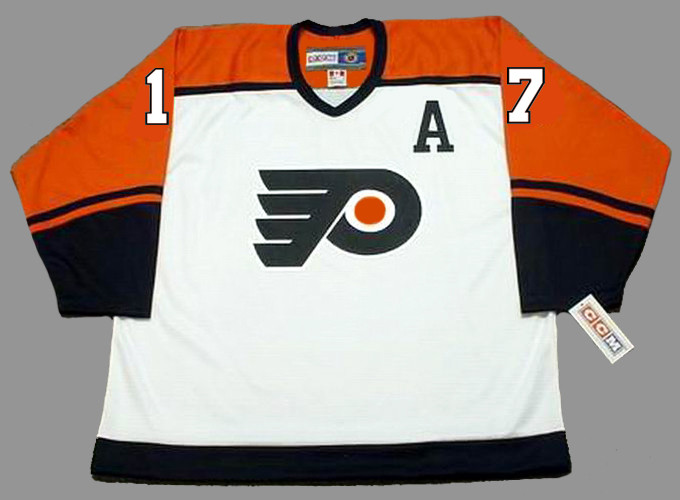 ... Philadelphia Flyers 1997 CCM Throwback Home NHL Hockey Jersey - Back.  Image 3. See 2 more pictures 43dc9d17c