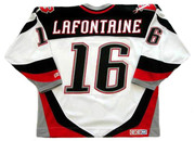 PAT LAFONTAINE Buffalo Sabres 1996 CCM Throwback Home NHL Hockey Jersey - Back