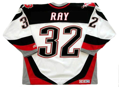 on sale 79249 26998 ROB RAY Buffalo Sabres 1999 CCM Throwback Home NHL Hockey Jersey