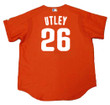 CHASE UTLEY Philadelphia Phillies 2003 Majestic Authentic Throwback Baseball Jersey - Back