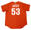 BOBBY ABREU Philadelphia Phillies 2003 Majestic Authentic Throwback Baseball Jersey - Back
